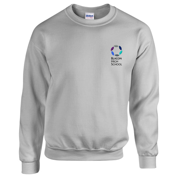 Blacon High PE Sweatshirt Sports Grey