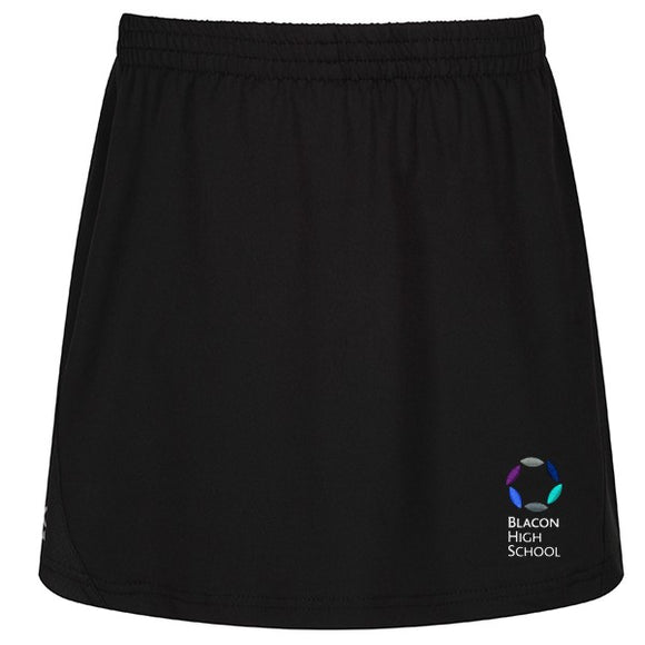 Blacon High Skort Black