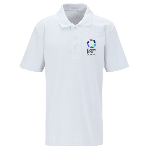 Blacon High PE Polo White