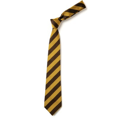 Tie - Elastic Brown / Gold