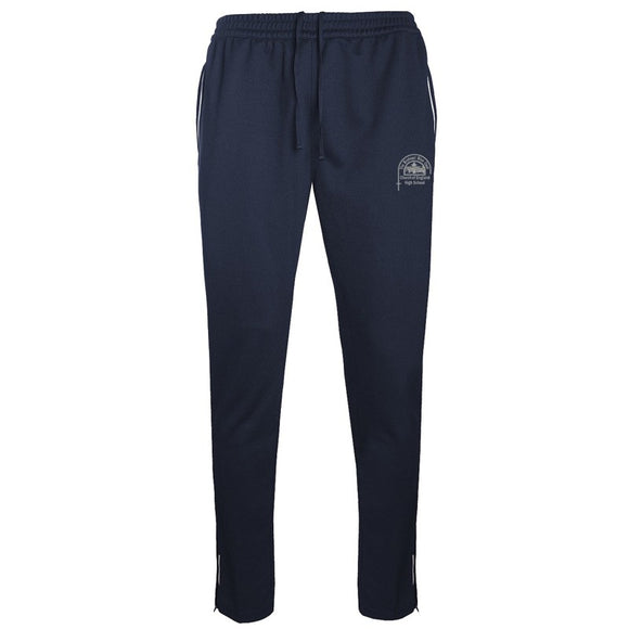 Bishop's High PE Training Trousers Navy / Silver