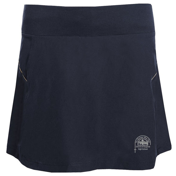 Bishop's High PE Skort Navy / Silver