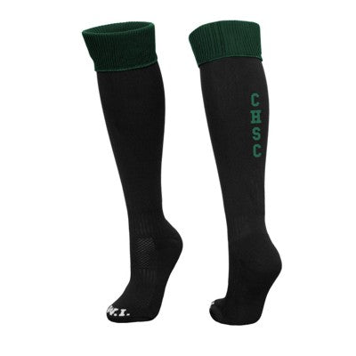 Catholic High Sport Socks Black / Bottle