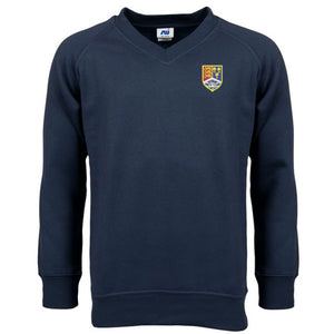 Christleton V - Neck Sweatshirt Navy