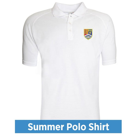 Christleton Summer Polo White