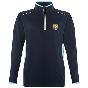 *NEW* Christleton 1/4 Zip Top Navy / Sky