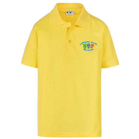 Capenhurst Pre School Polo Yellow