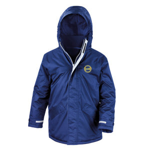 Dodleston Primary Winter Parka Royal