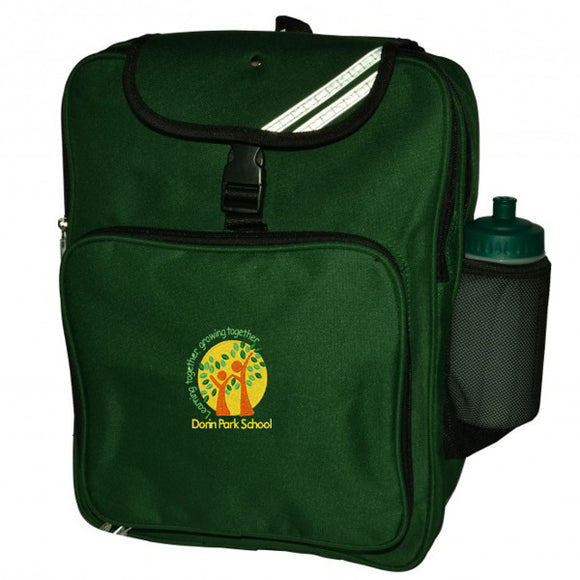 Dorin Park Backpack Bottle Green