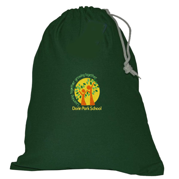 Dorin Park PE Bag Bottle Green