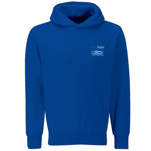 Dee Point Hooded Sweat Deep Royal