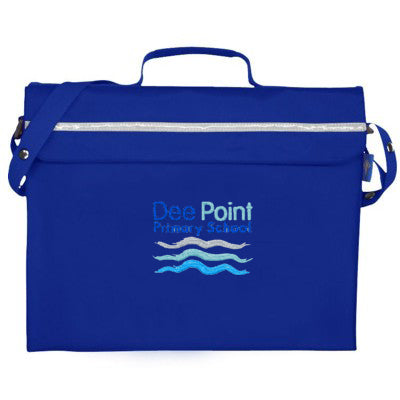 Dee Point Satchel Bag Royal