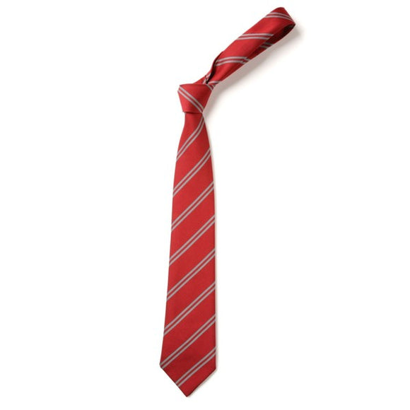 Tie - Elastic Red / Grey