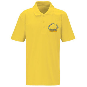 Eccleston Primary Polo Shirt Gold