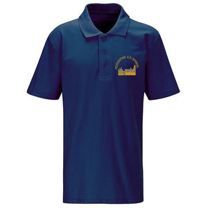 Eccleston Primary Polo Shirt Navy