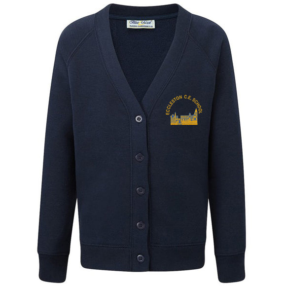 Eccleston Primary Cardigan Navy