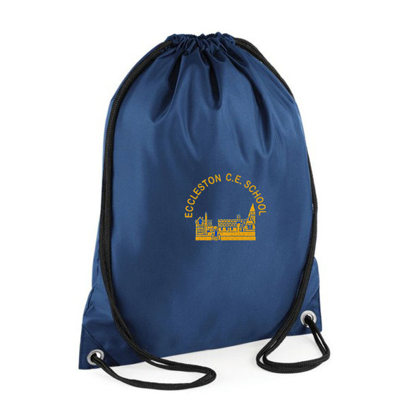Eccleston Primary PE Bag Navy