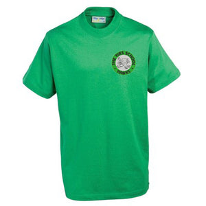 The Firs Hawks T - Shirt Emerald