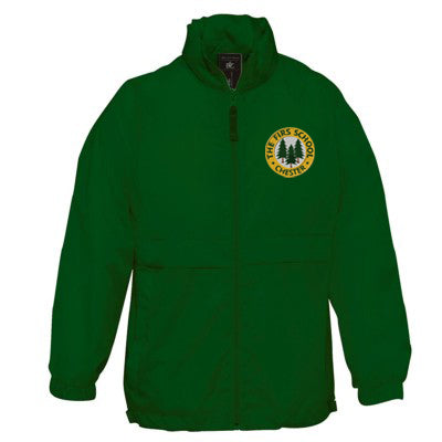 The Firs Cagoule Bottle Green