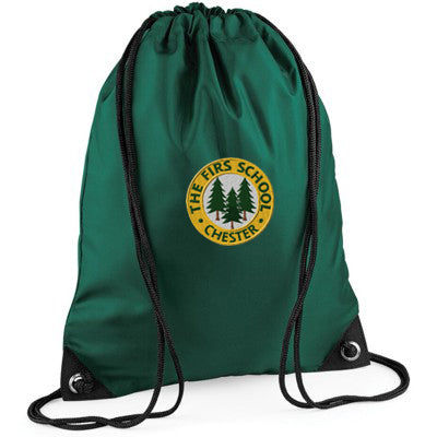 The Firs Gym Bag Bottle Green