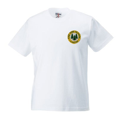 The Firs T Shirt White
