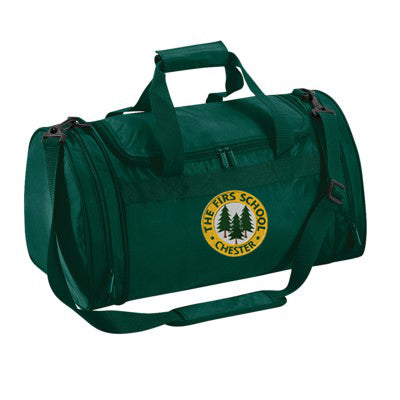 The Firs Sports Bag Bottle Green