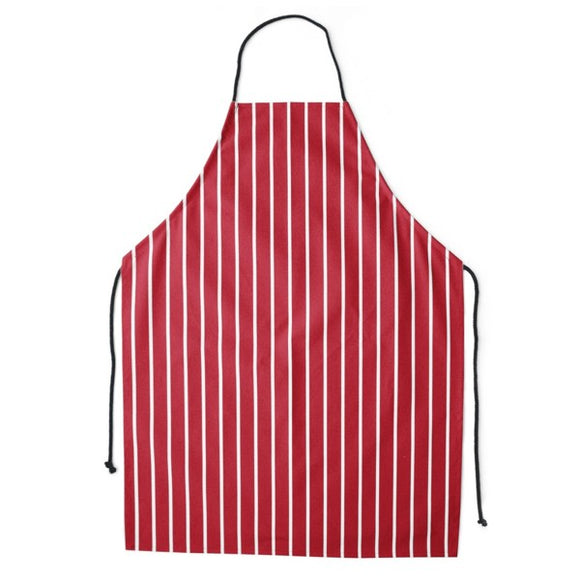 Tarporley High Food Technology Apron Red / White
