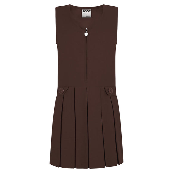 Avalon Pinafore Brown