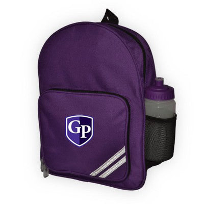 Grosvenor Park Back Pack Purple