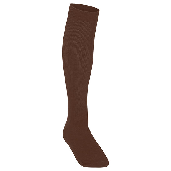 Knee High Socks Brown (Pack of 3)