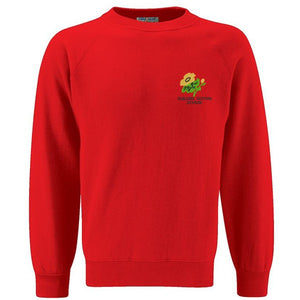 Guilden Sutton Primary Sweatshirt Red