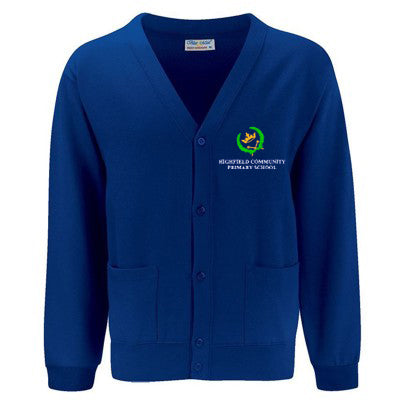 Highfield Cardigan Deep Royal