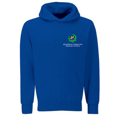 Highfield Hooded Sweat Deep Royal