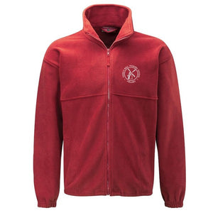 Horn's Mill Fleece Red