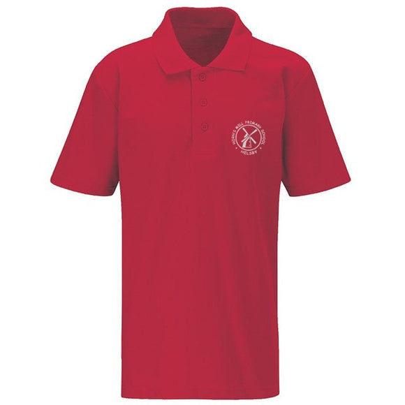 Horn's Mill Polo Shirt Red