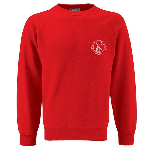 Horn's Mill Sweatshirt Red