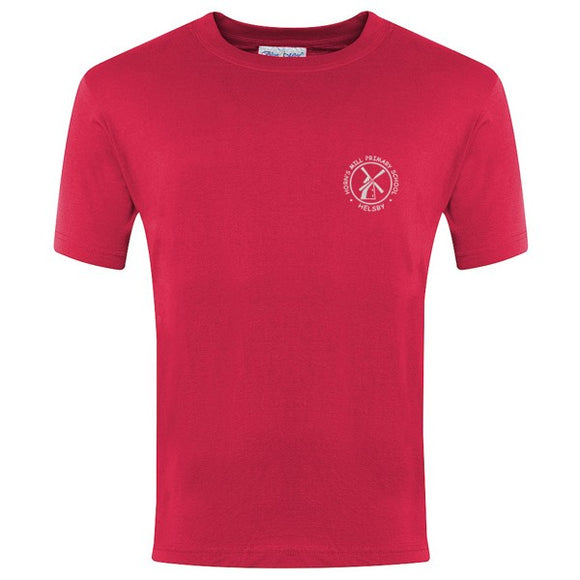 Horn's Mill PE T - Shirt Red