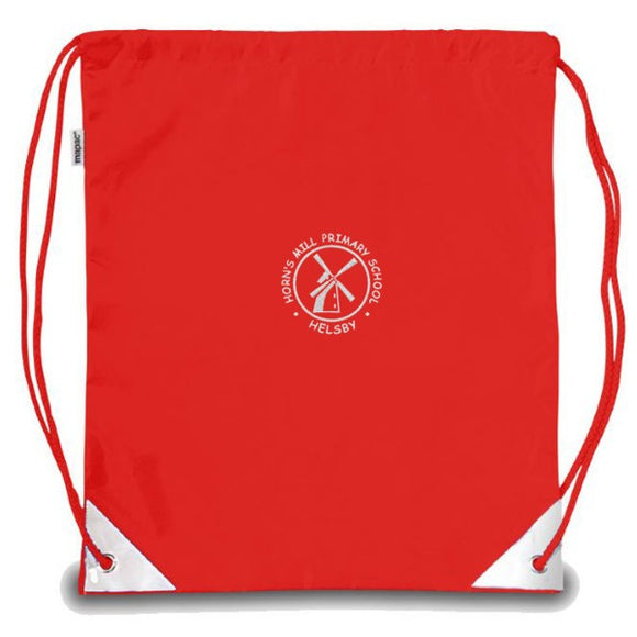 Horn's Mill PE Bag Red