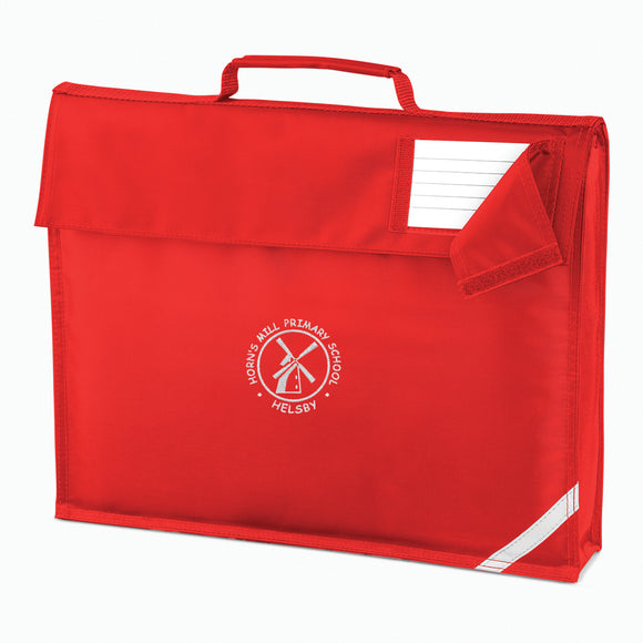 Horn's Mill Book Bag Red