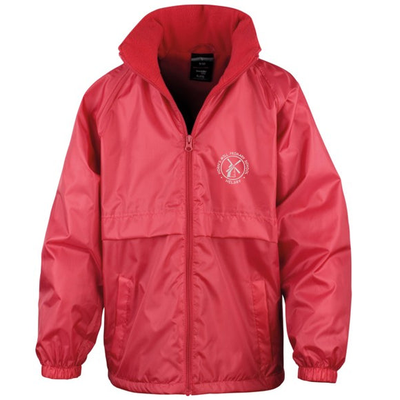 Horn's Mill Coat Red