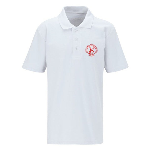 Horn's Mill Polo Shirt White