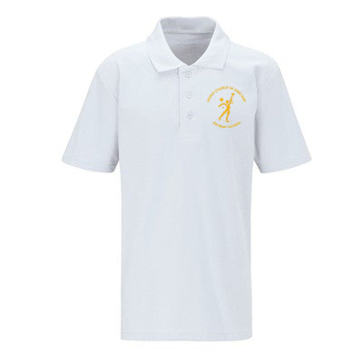 Hoole C of E Polo Shirt White