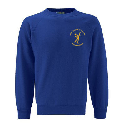Hoole C of E Sweatshirt Royal (Compulsory)