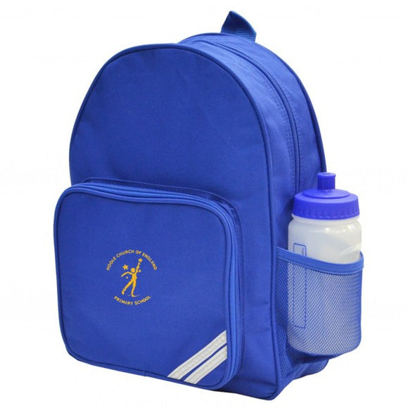 Hoole C of E Infant Backpack Royal