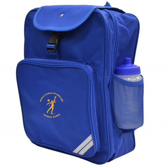 Hoole C of E Junior Backpack Royal