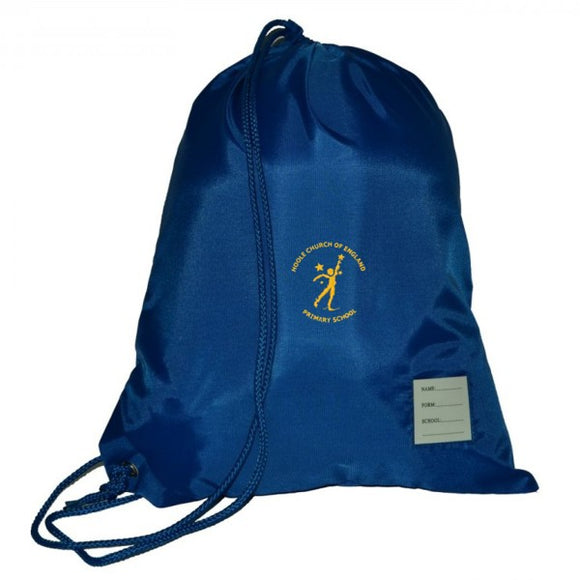 Hoole C of E PE Bag Royal