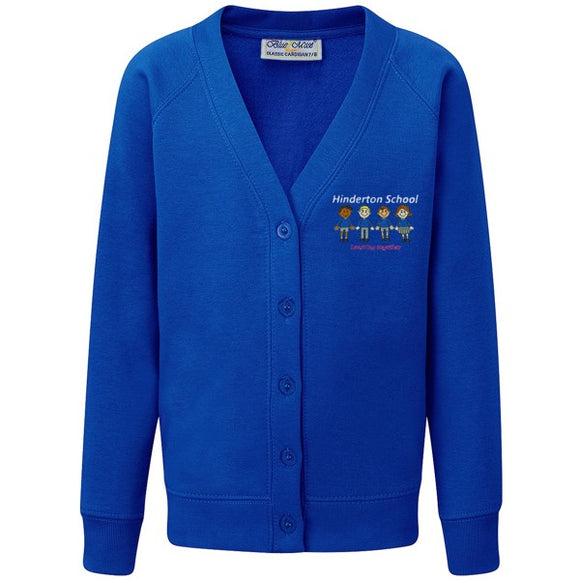 Hinderton Cardigan Royal