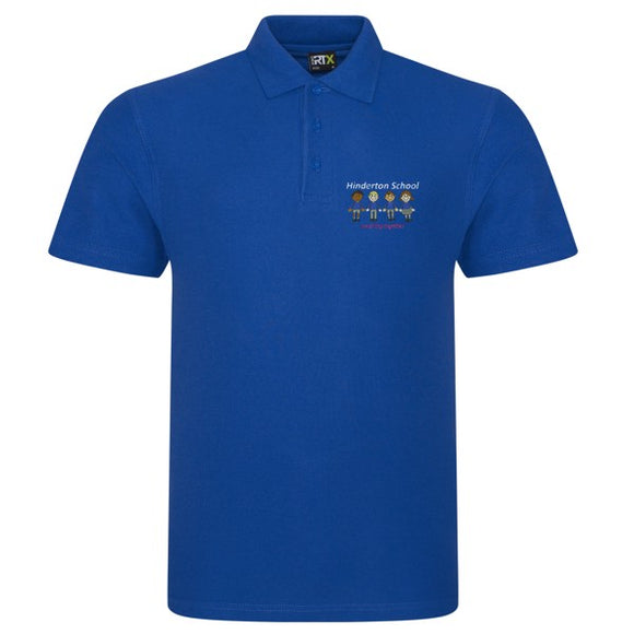 Hinderton Staff Polo Shirt Royal