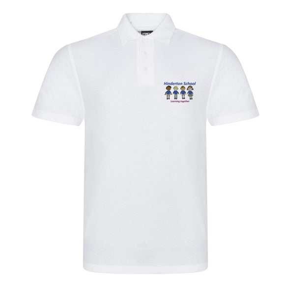 Hinderton Staff Polo Shirt White