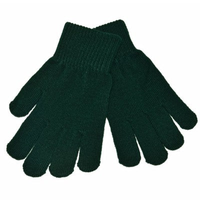 Stretch Gloves Bottle Green